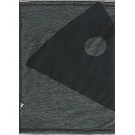 Klättermusen Eir Neckwarmer Spruce Green/Grey Melange
